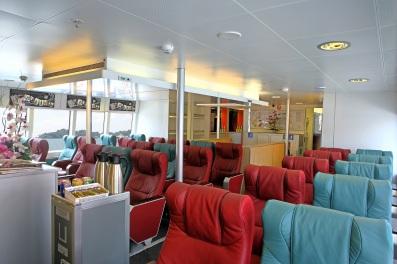 Onboard Bintan Ferry. (Photo: MainlyMiles)