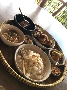 Indonesian feast