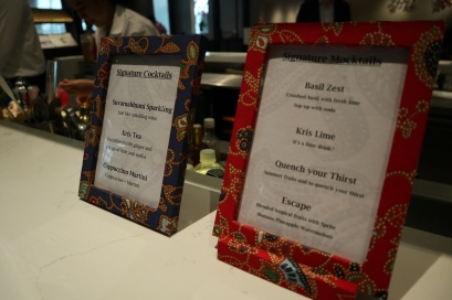 Bar menu (Photo: MainlyMiles)