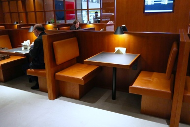 Noodle Bar seating. (Photo: MainlyMiles)