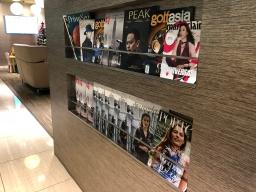 Magazine rack (Photo: MainlyMiles)