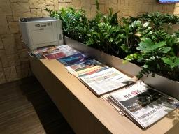 Newspapers and Printer (Photo: MainlyMiles)