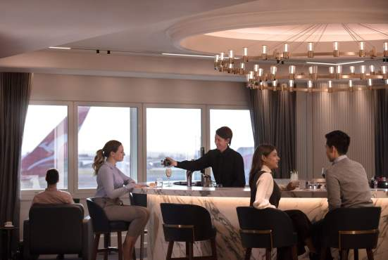 QF London Lounge (Qantas)