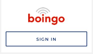 Wifi signin options