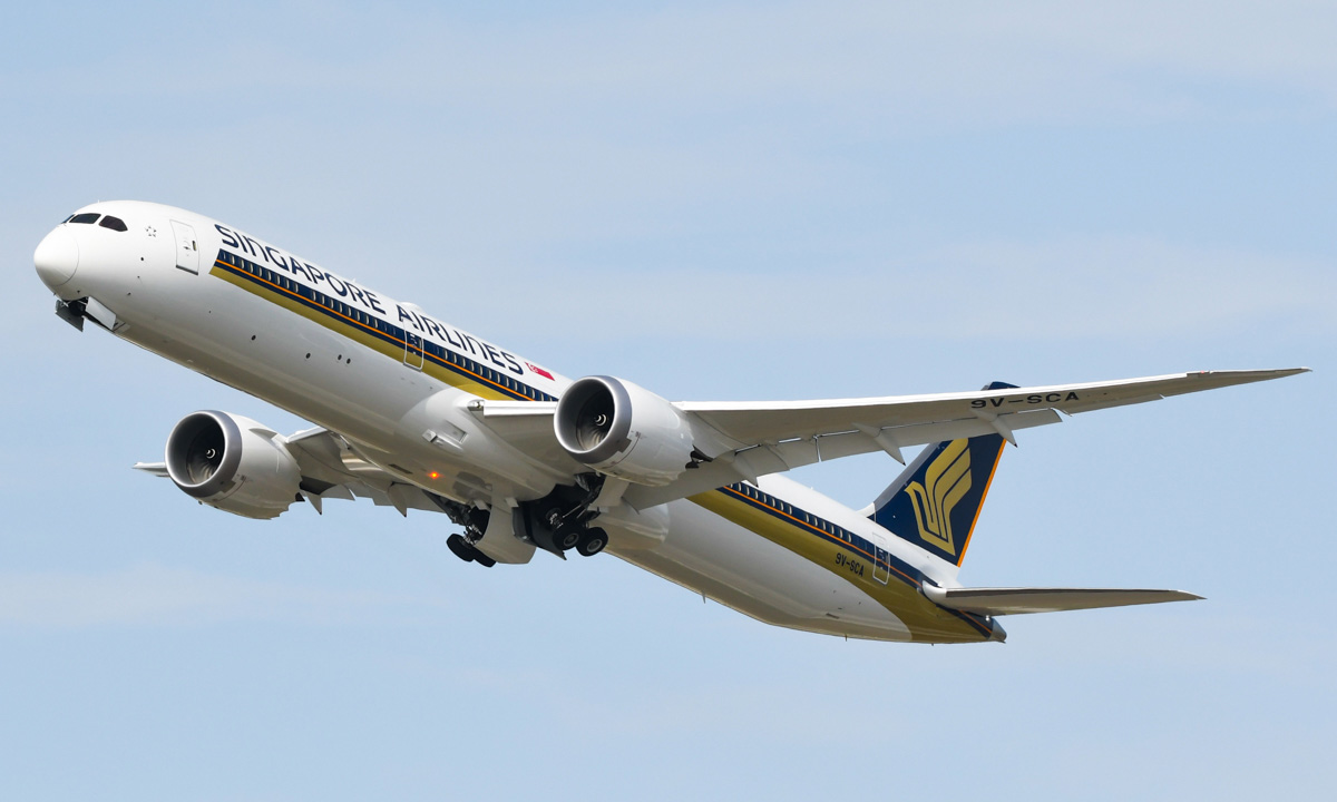 SIA Fleet: Boeing 787-10 – Mainly Miles