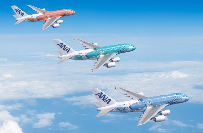 ANA A380s (ANA)