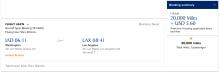 UA IAD-LAX