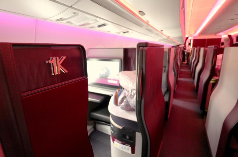 Seat 1K Span