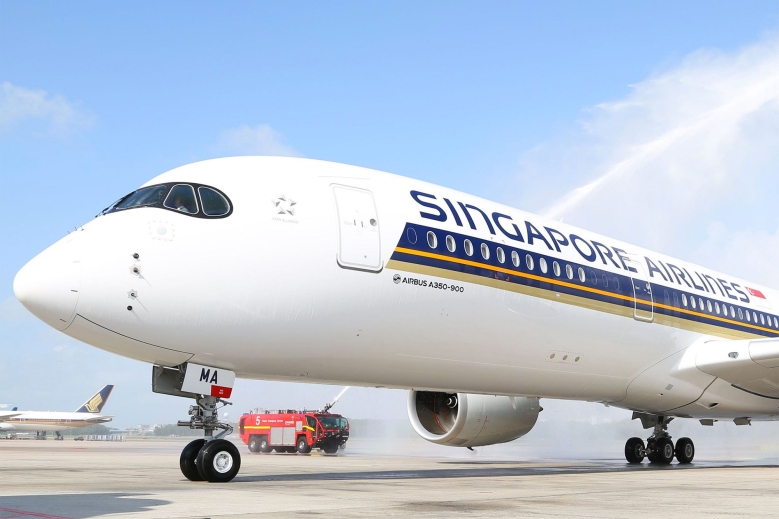 SQ A350 Delivery (Airbus)