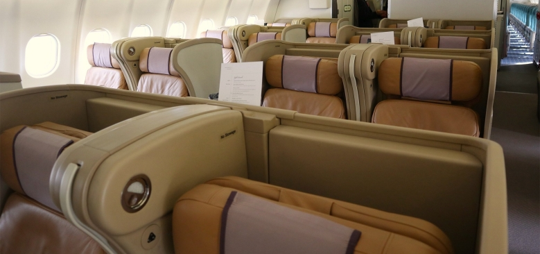 Singapore Airlines' A330 Business Class seat relegated to Premium Economy status